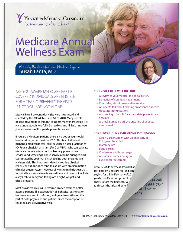 thumbnail of Annual Medicare Exam resource