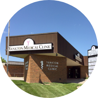 Yankton medical clinic location outside photo
