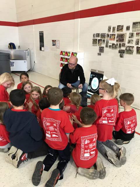 Vermillion Second Grade Students Receive  Bike Helmets