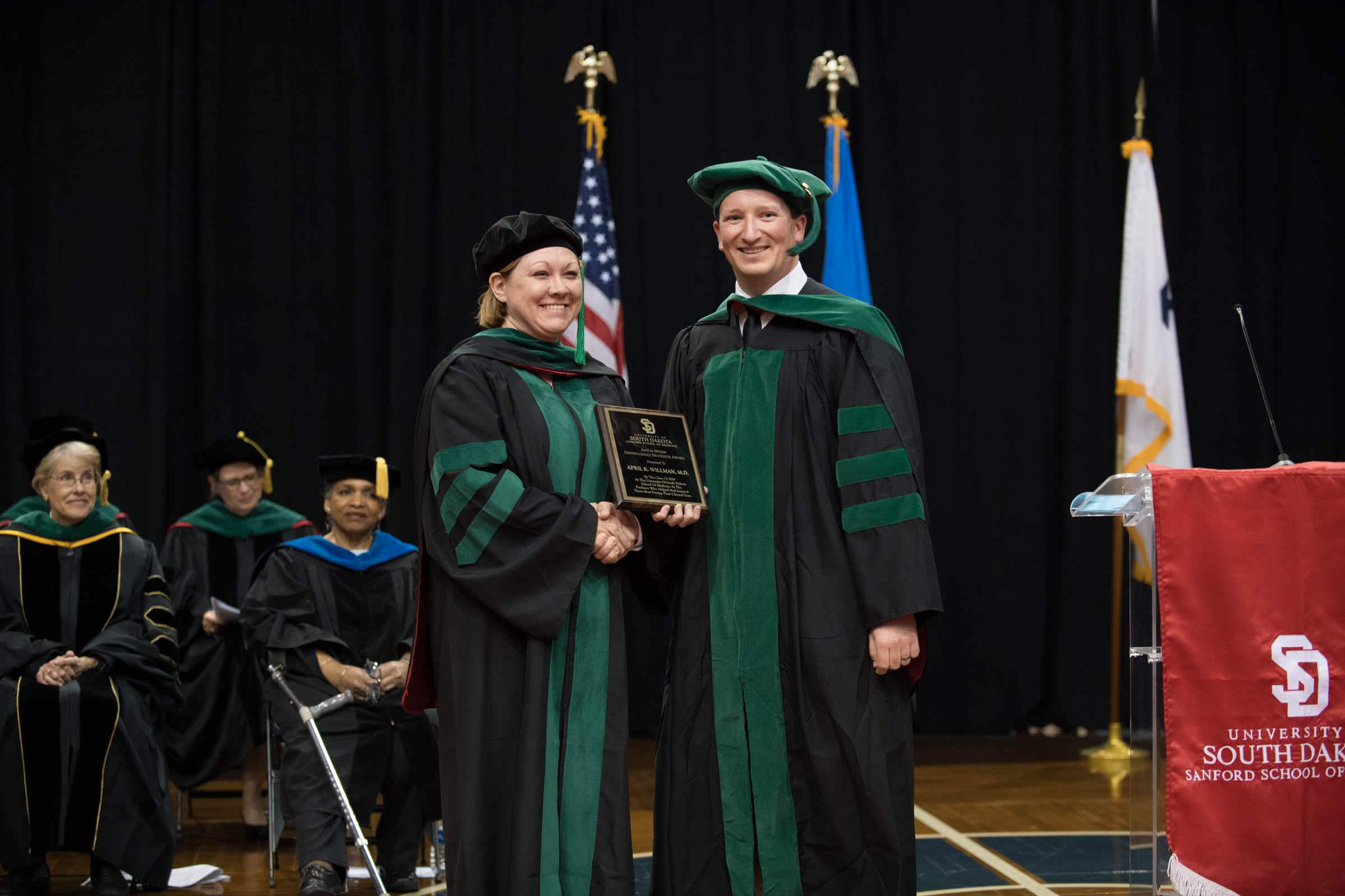 Dr. April Willman Receives USD Sanford School of Medicine Hyden Award