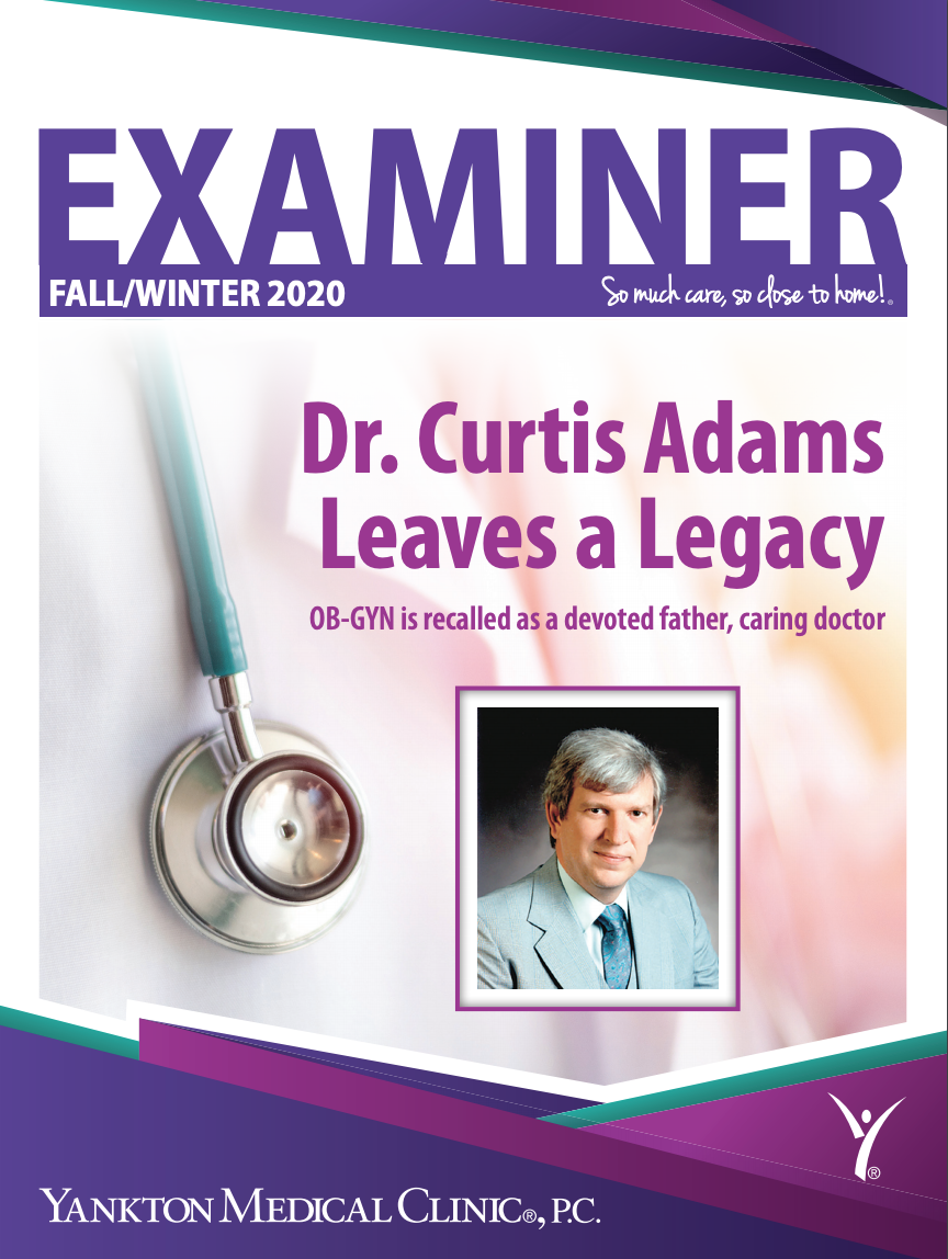 Cover thumbnail image of the Fall 2020 Examiner Newsletter