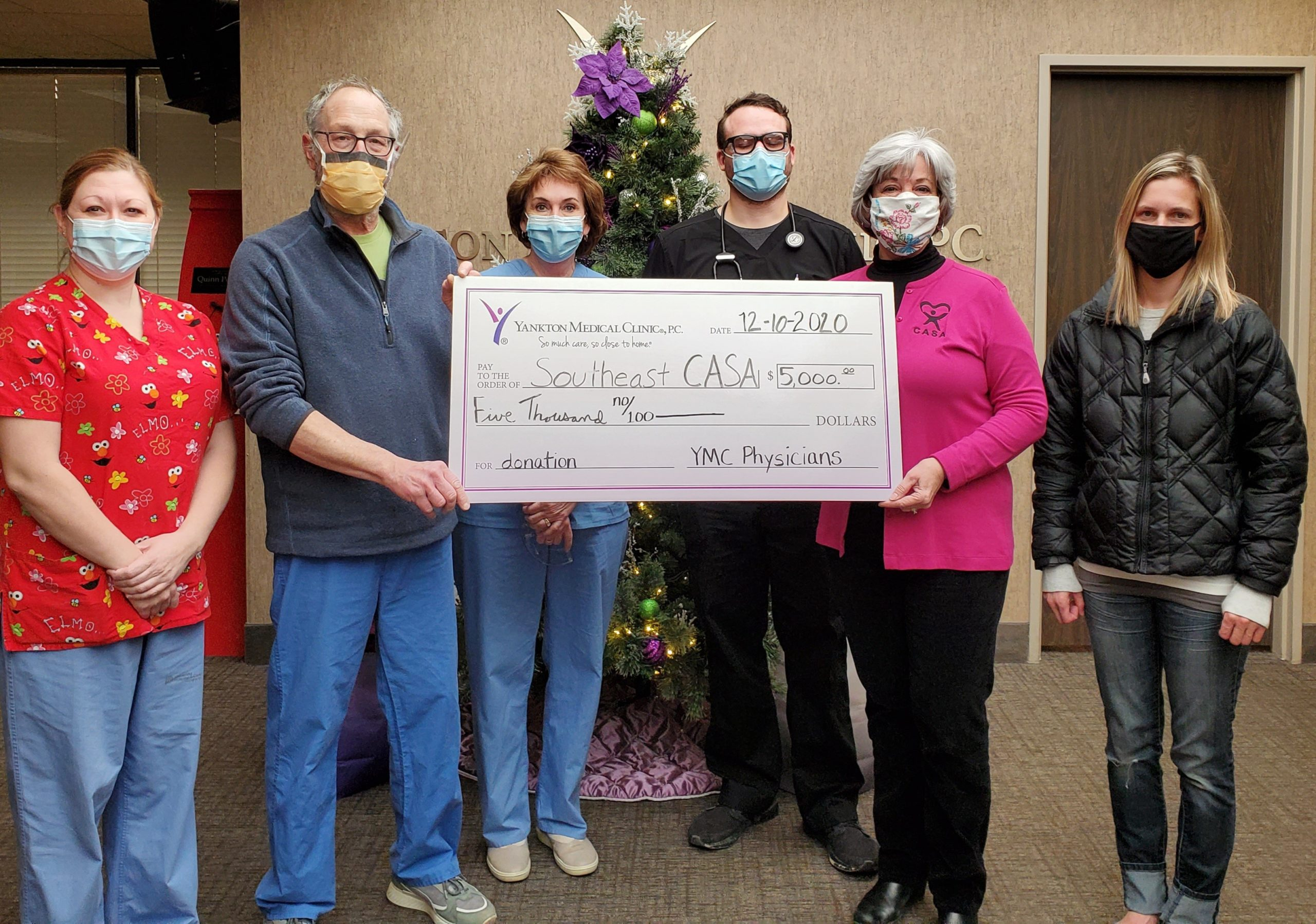 Yankton Medical Clinic Supports Southeast CASA